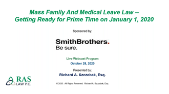 Mass Family and Medical Leave Webinar